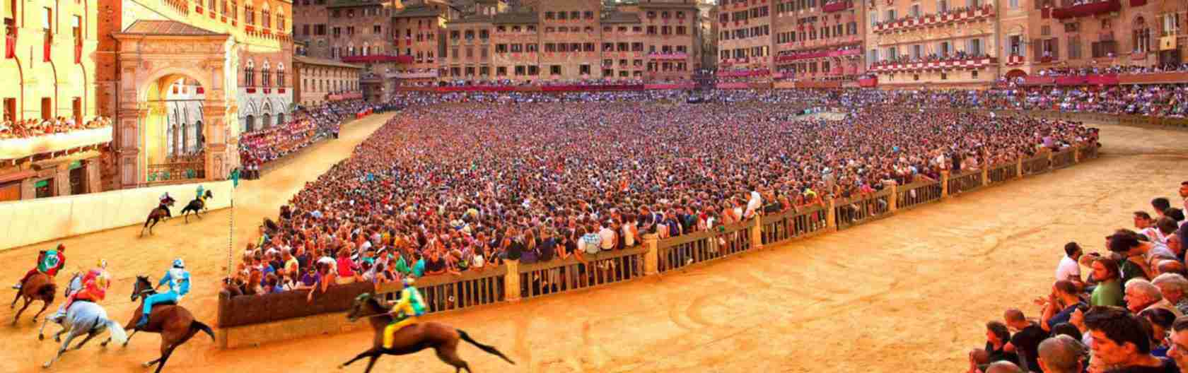Le escort Siena amano l'eccitazione e l'adrenalina del Palio di Siena. Magica escort